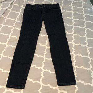 Joe's Jeans skinny dark jeans